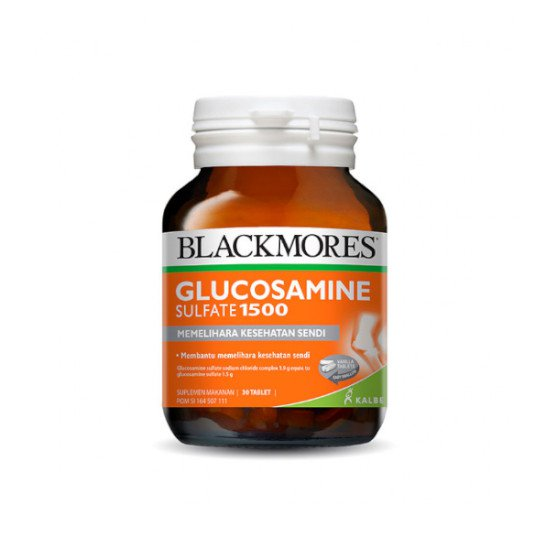 BLACKMORES GLUCOSAMINE SULFATE 1500 30 TABLET