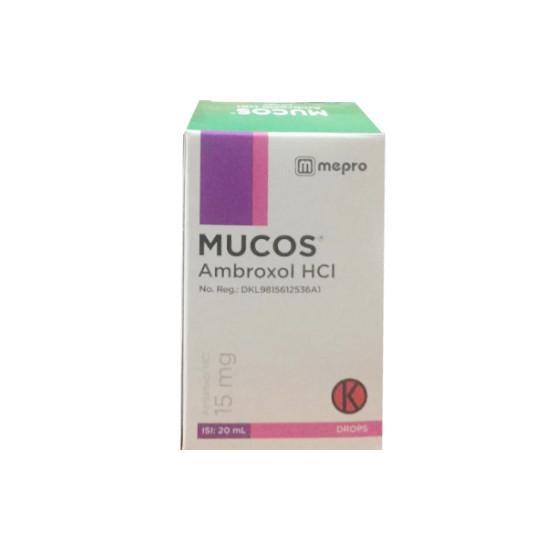 MUCOS DROPS 20 ML