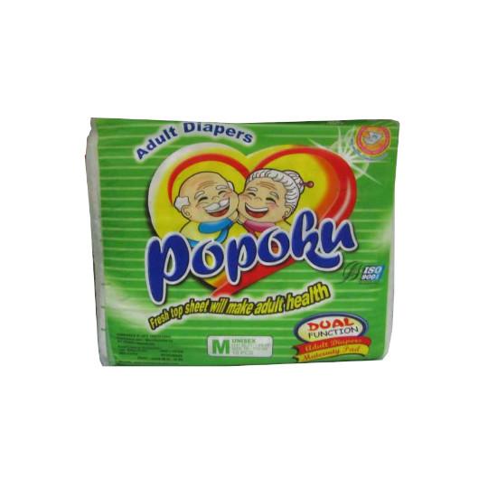 POPOKU ADULT DIAPERS M 10 PIECES
