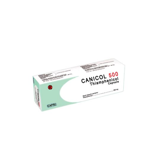 CANICOL 500 MG 10 KAPSUL