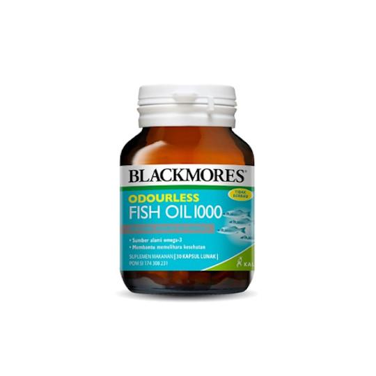 BLACKMORES ODOURLESS FISH OIL 1000 30 KAPSUL