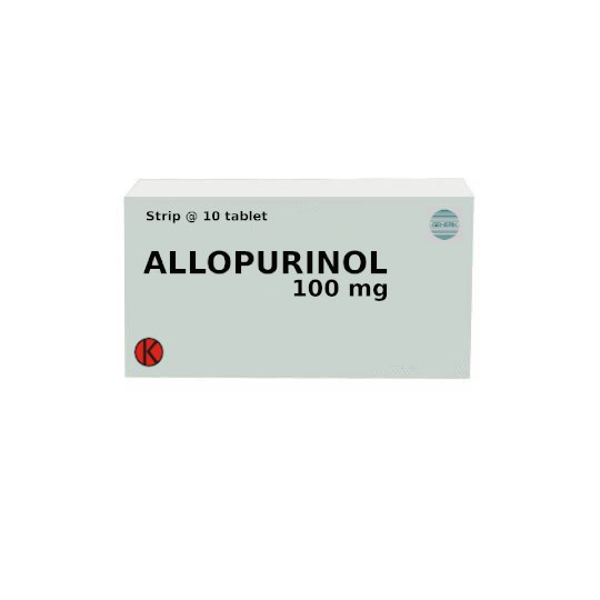 ALLOPURINOL 100 MG 10 TABLET