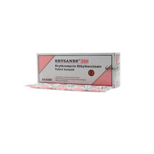 ERYSANBE 200 MG 10 TABLET
