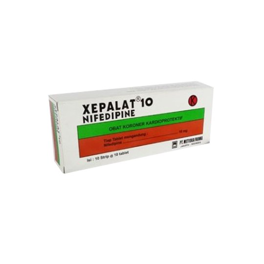XEPALAT TABLET 10 MG