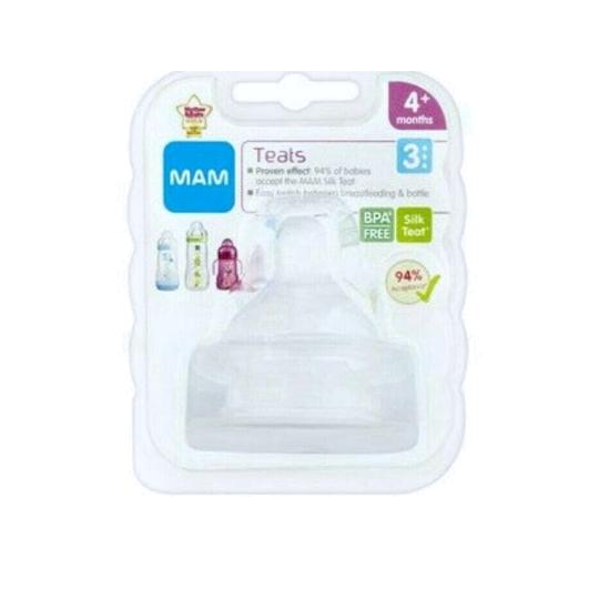 MAM Teat 3 BPA Free 1 Pieces