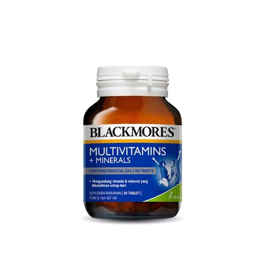 BLACKMORES MULTIVITAMINS + MINERALS 30 TABLET