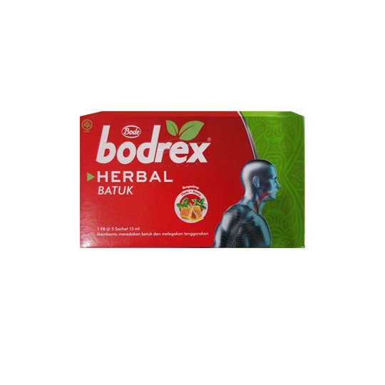 BODREX HERBAL BATUK 15 ML 5 SACHET