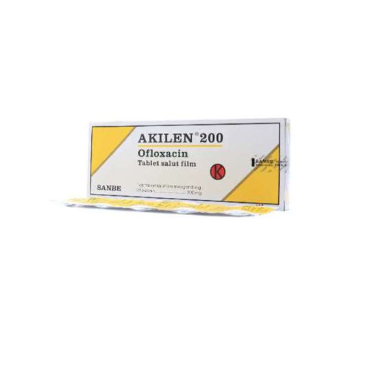 AKILEN 200 MG 10 TABLET