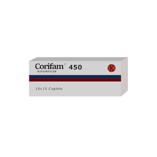 CORIFAM 450 MG 10 KAPSUL