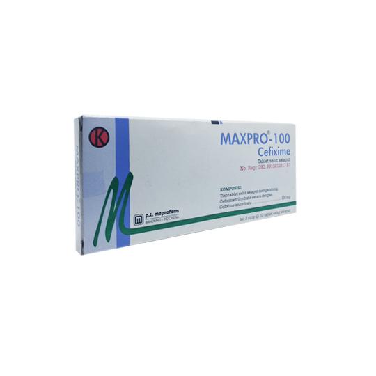 MAXPRO FC 100 MG 10 TABLET