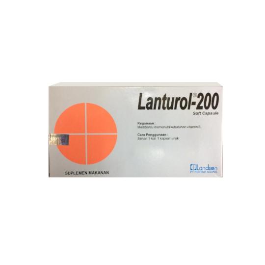 LANTUROL 200 IU 10 KAPSUL