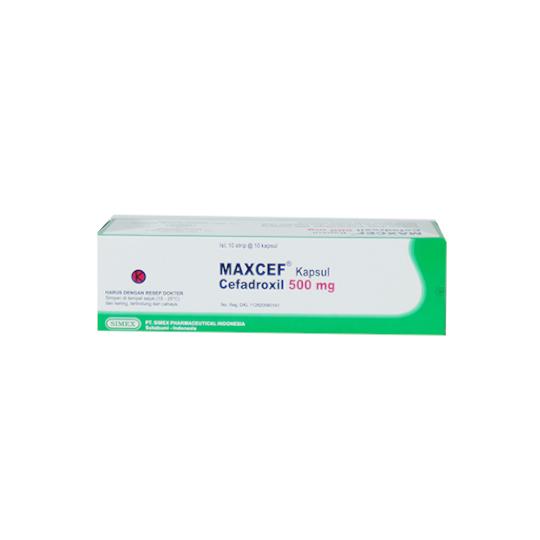 MAXCEF 500 MG 10 KAPSUL