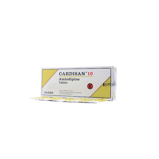 CARDISAN 10 MG 10 TABLET