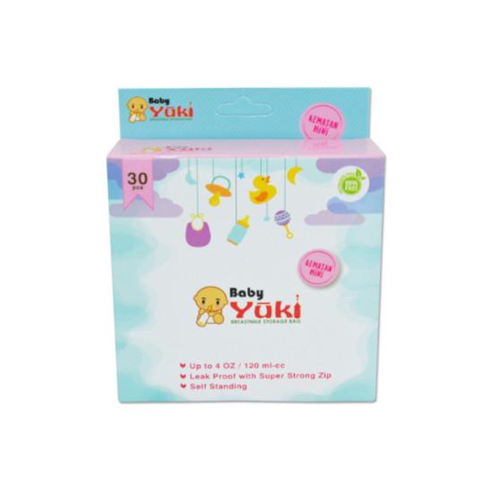 Baby Yuki Kantong Asi 120 ml 30 Pieces