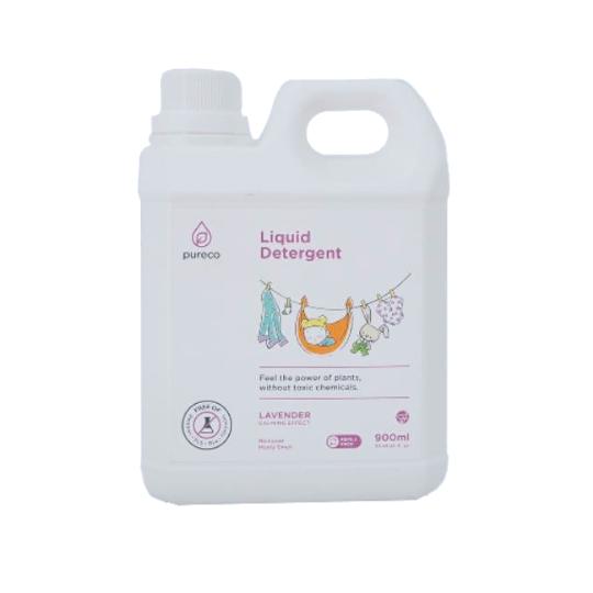 Pureco Liquid Detergent Lavender 900 ml