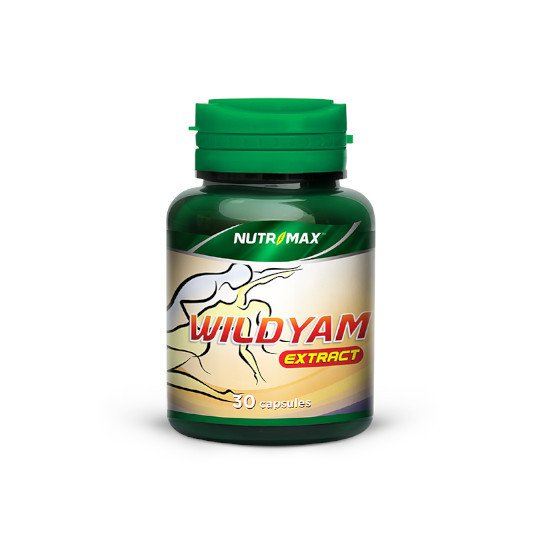 NUTRIMAX WILD YAM EXTRACT 30 KAPSUL