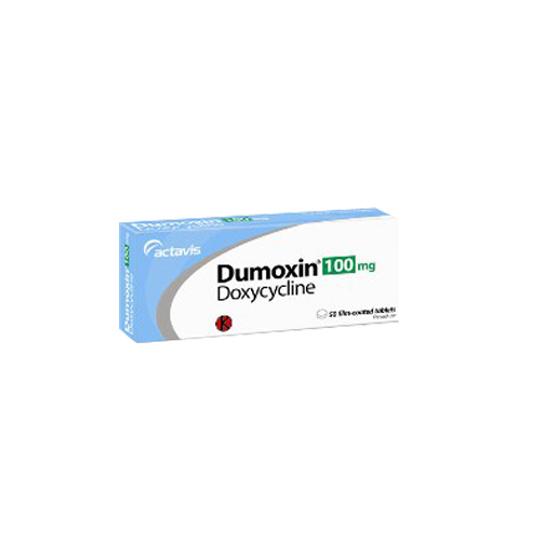DUMOXIN 100 MG 10 TABLET
