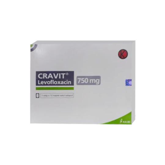 CRAVIT 750 MG 10 TABLET