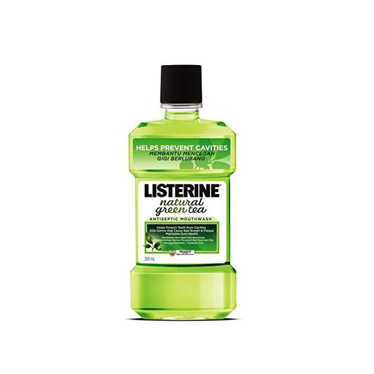 LISTERINE NATURAL GREEN TEA 250 ML