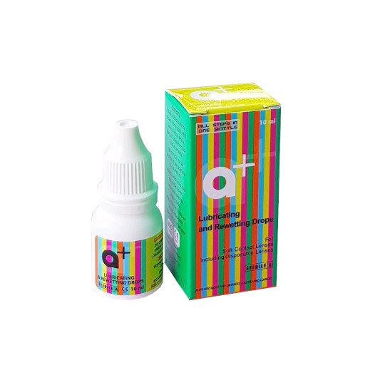 A+ LUBRICATING & REWETTING DROPS 10 ML