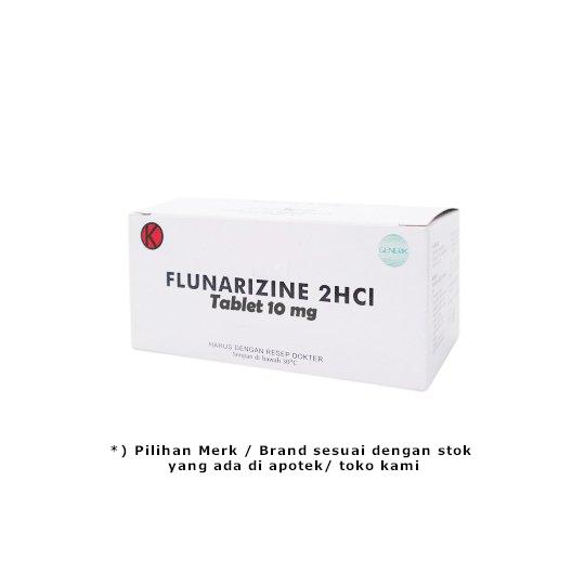 FLUNARIZINE 10 MG 10 TABLET