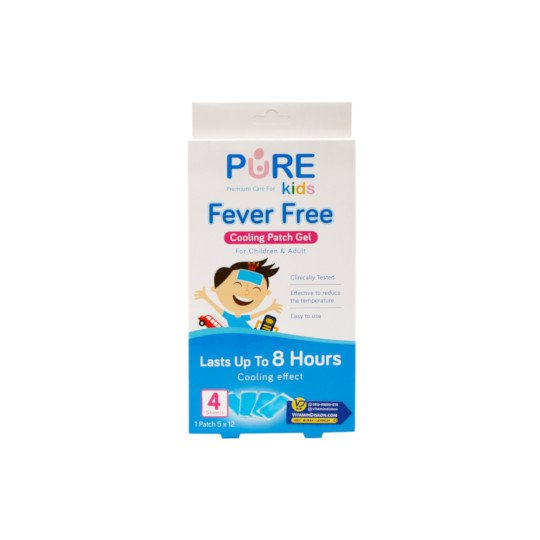 PURE KIDS FEVER FREE 4 SACHET