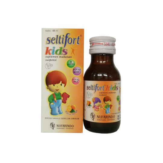 SELTIFORT KIDS SUSPENSI ORANGE 60 ML