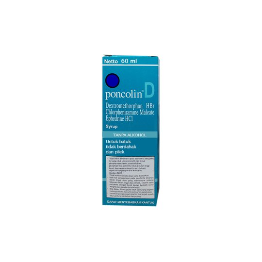 PONCOLIN D SIRUP 60 ML