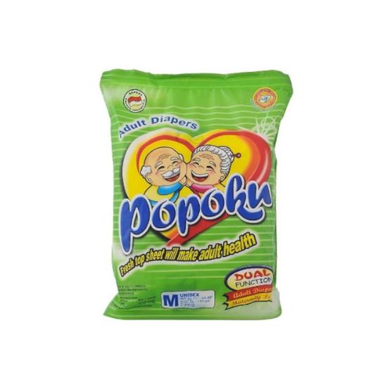 POPOKU ADULT DIAPERS M 2 PIECES