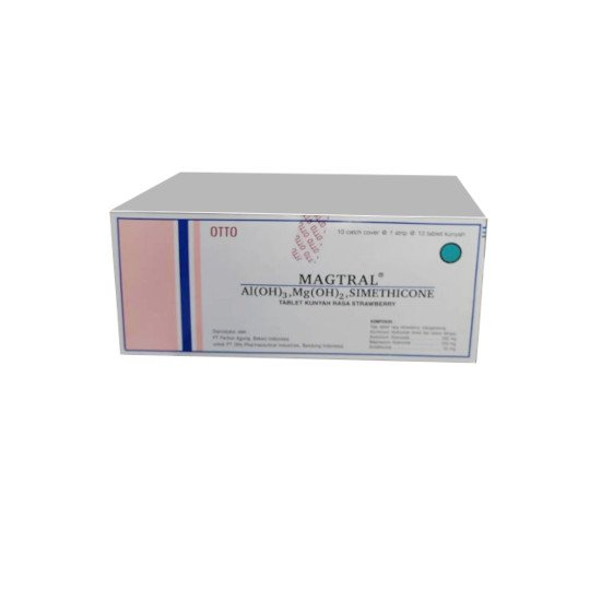 MAGTRAL - STRAWBERRY 10 TABLET