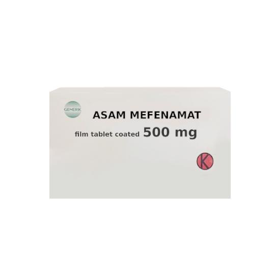 ASAM MEFENAMAT 500 MG 10 KAPLET