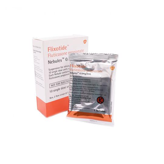 FLIXOTIDE 0.5 MG/2 ML 10 NEBULES - OBAT RUTIN