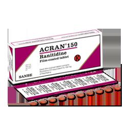 ACRAN 150 MG 10 TABLET