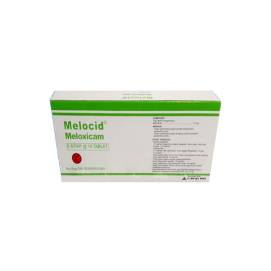 MELOCID 7.5 MG 10 TABLET