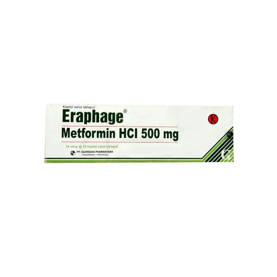 ERAPHAGE 500 MG 10 KAPLET