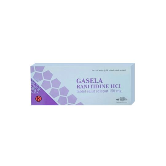 GASELA 150 MG 10 TABLET
