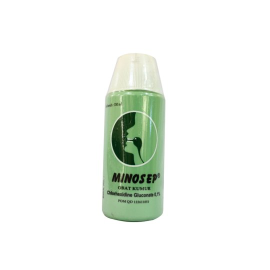 MINOSEP 0.1% GARGLE 150 ML (HIJAU)