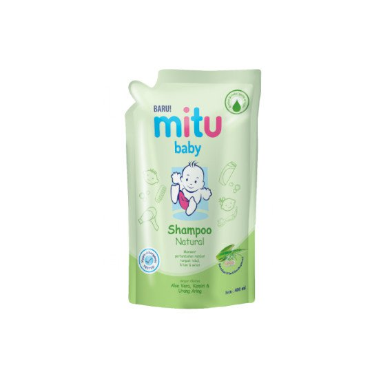 Mitu Baby Shampoo Natural 400 ml