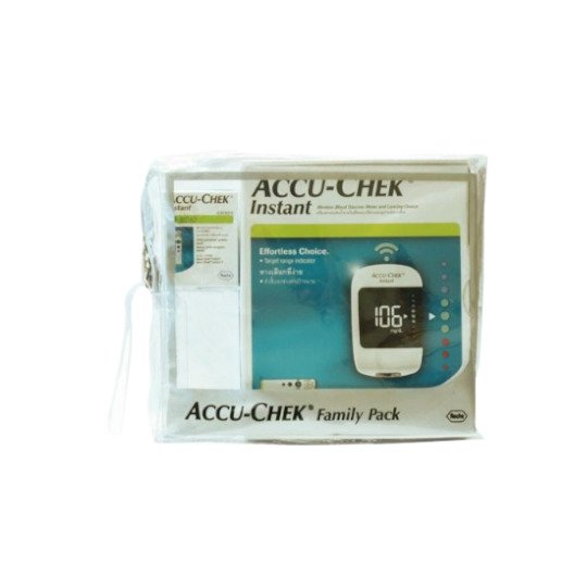 ACCU CHEK INSTANT NEW FAMILY PACK