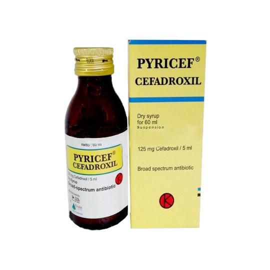 PYRICEF SIRUP 60 ML
