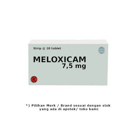 MELOXICAM 7.5 MG 10 TABLET