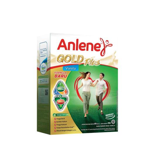 ANLENE GOLD PLUS RASA VANILA 250 G