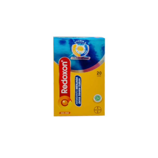 Redoxon Triple Action Effervescent Twin Pack 20 Tablet