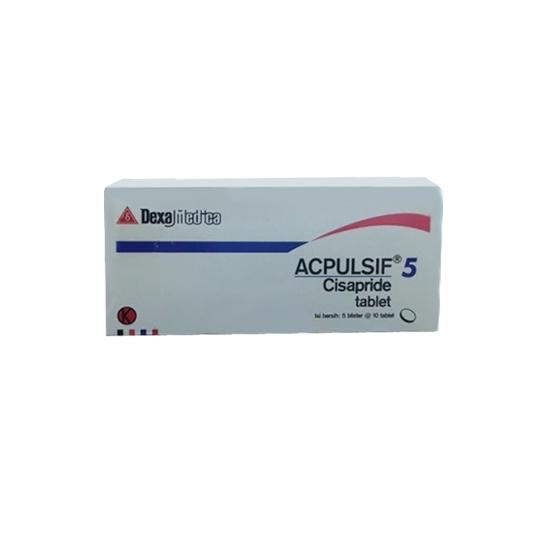 ACPULSIF 5 MG 10 TABLET