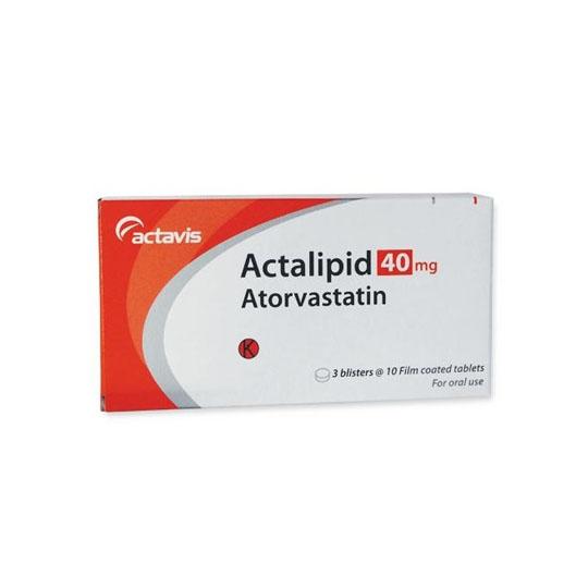 ACTALIPID 40 MG 10 TABLET
