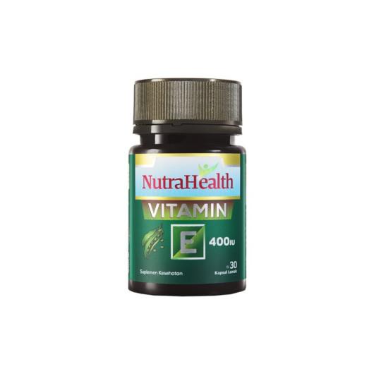 Nutrahealth Vitamin E 400 IU 30 Kapsul