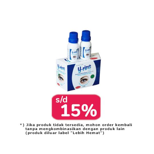 Y-Rins Eye Liquid 12 ml 2 Box (@2 Botol) - Lebih Hemat