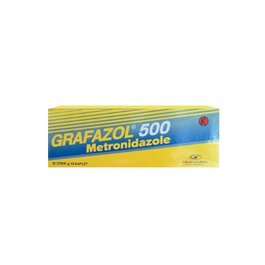 GRAFAZOL 500 MG 10 KAPSUL