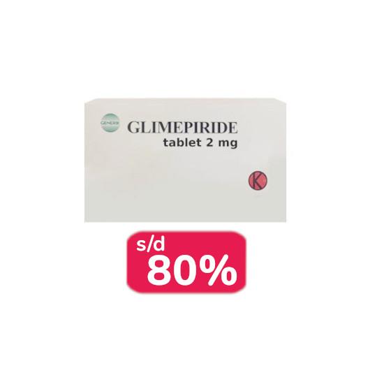 GLIMEPIRIDE 2 MG 30 TABLET - OBAT RUTIN