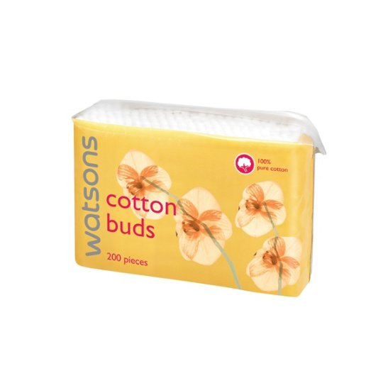 WATSONS COTTON BUDS 200 PIECES